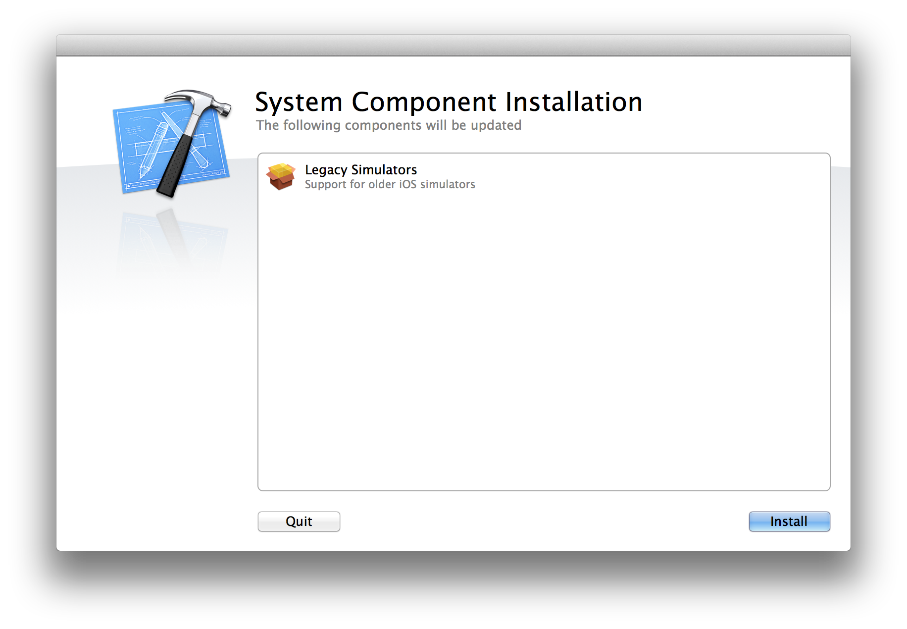 Xcode deployment: The dvtdownloadableindex and iOS