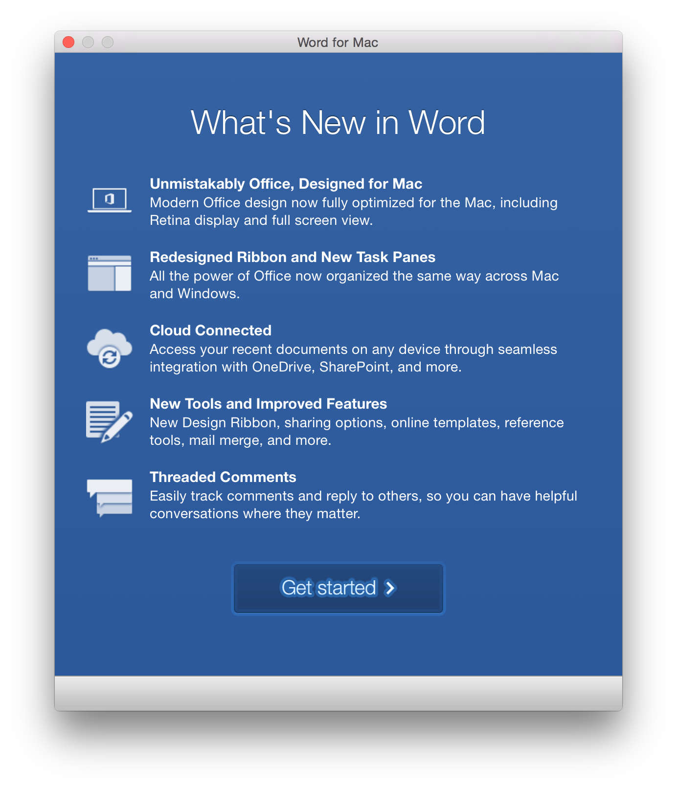 microsoft word 2016 mac download