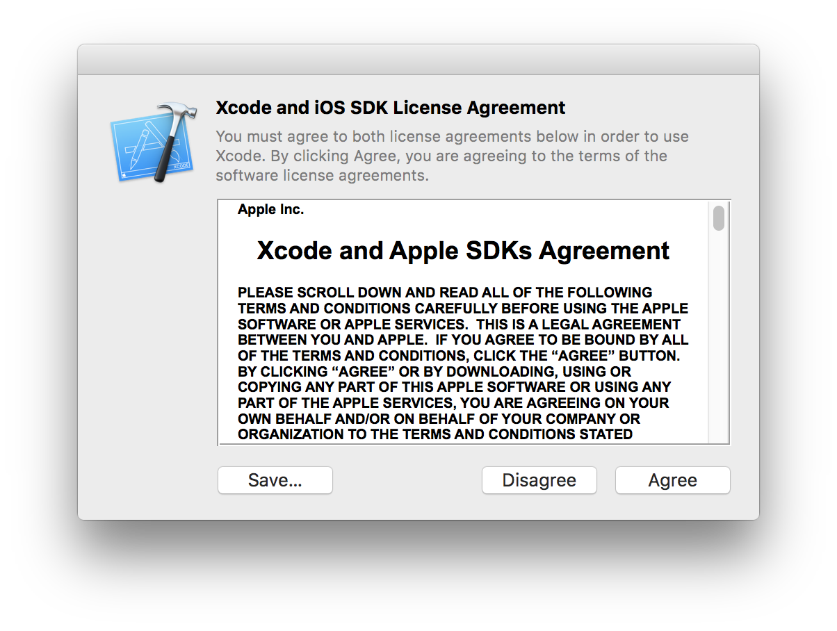 Deploying Xcode The Trick With Accepting License Agreements