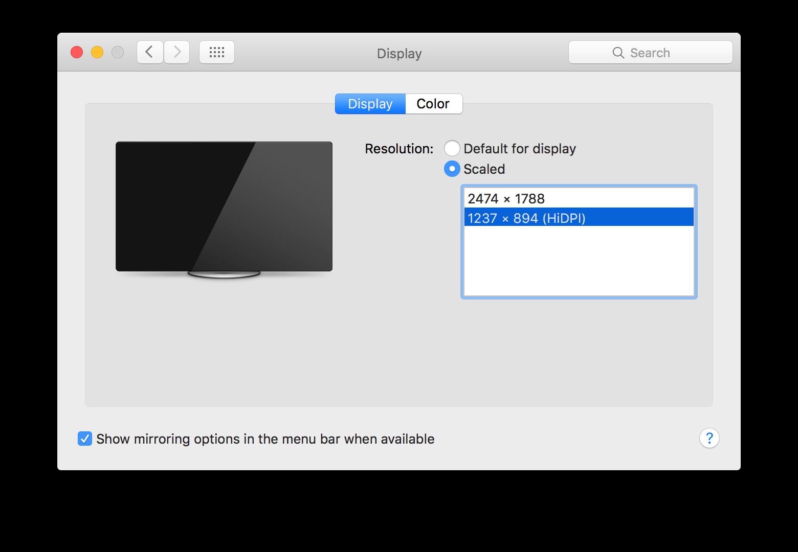 Enabling HiDPI macOS guest VMs in VMware Fusion