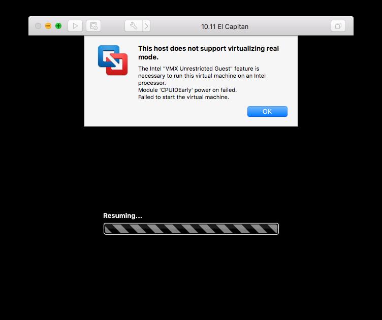 Using VMware Fusion 10 on